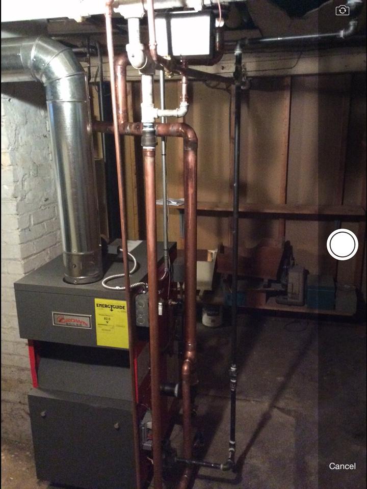 Clifton, NJ - Install Crown steam boiler