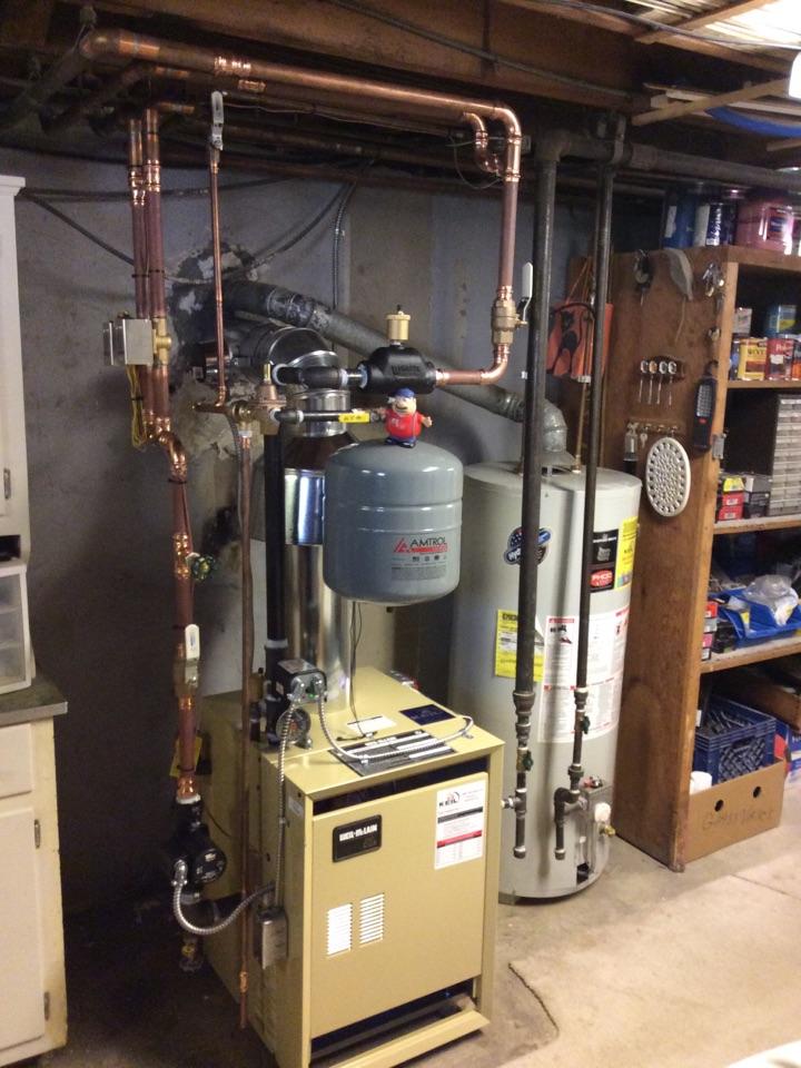 Boonton Township, NJ - Install CGa 6 Well-McLain boiler