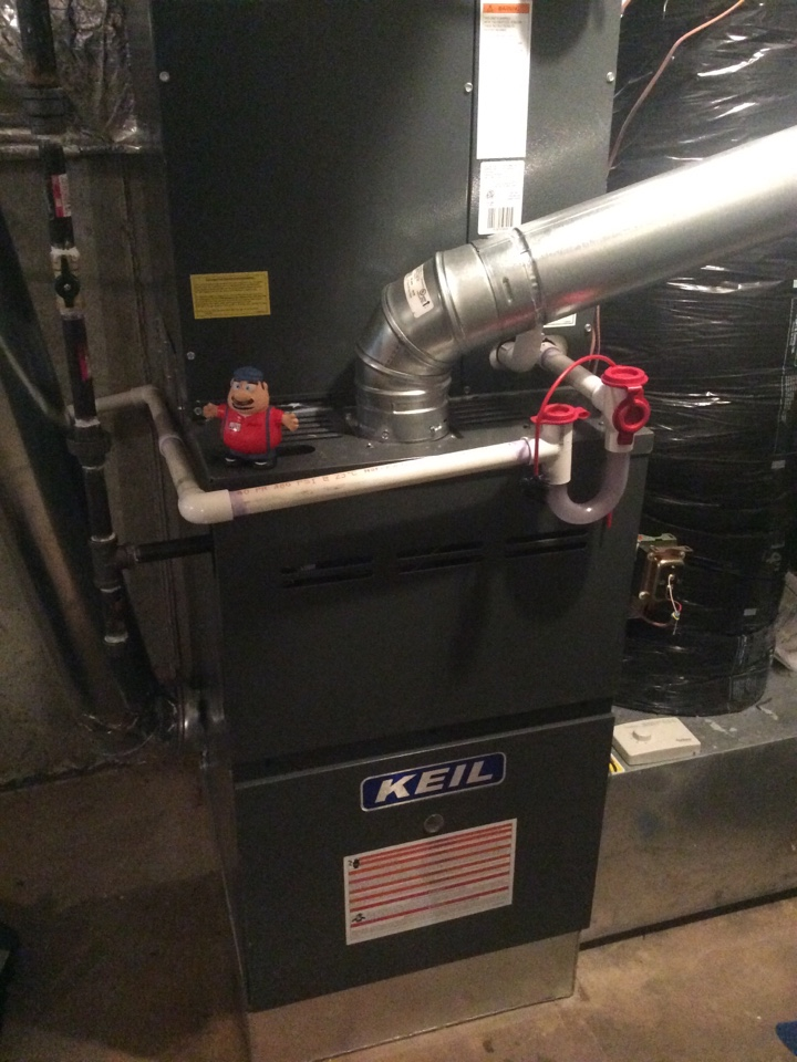 Mahwah, NJ - Install goodman furnace coil and condenser