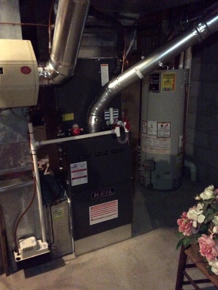 Clifton, NJ - NIGHT SERVICE REPAIRS ON GOODMAN GAS FURNACE IN CLIFTON