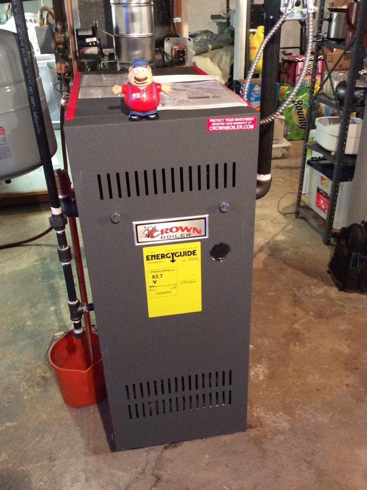 Parsippany-Troy Hills, NJ - NO HEAT REPAIR ON CROWN GAS BOILER NEAR PARSIPPANY MORRIS COUNTY