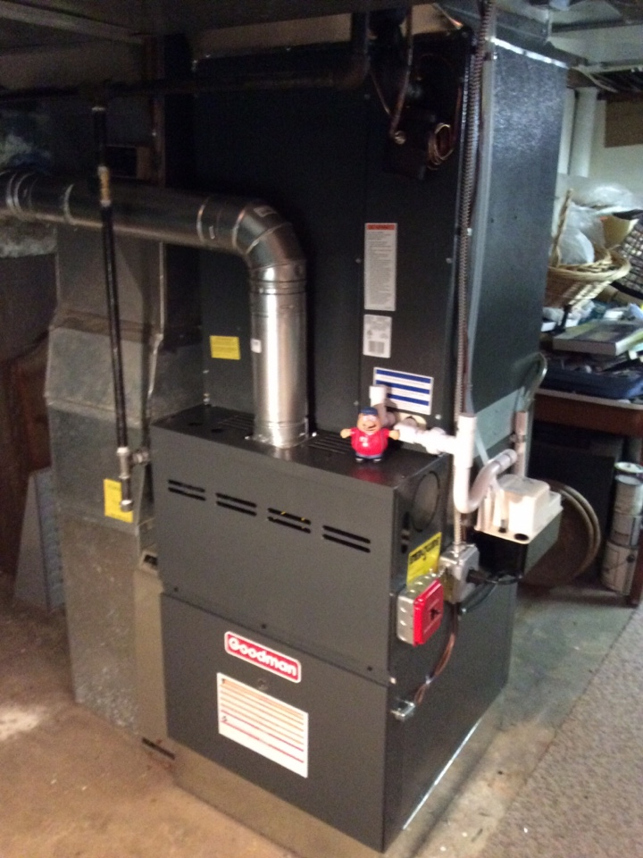 Paramus, NJ - NO HEAT, PILOT LIGHT OUT ON GOODMAN GAS FURNACE NEAR PARAMUS BERGEN COUNTY