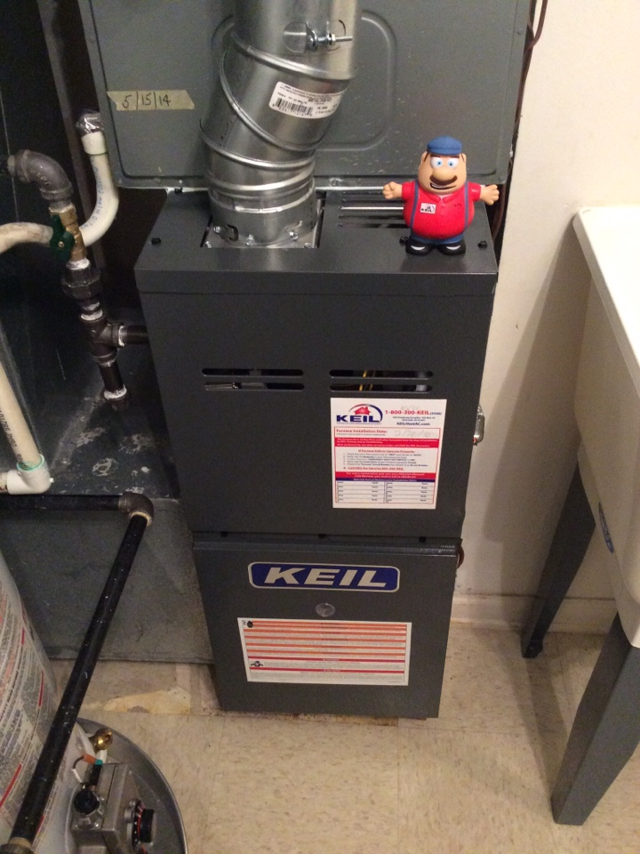 Sussex, NJ - AFTER HOURS SERVICE CALL, PILOT LIGHT OUT ON GOODMAN PROPANE GAS FURNACE NEAR SUSSEX