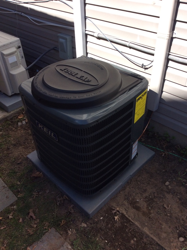 Paramus, NJ - Install Goodman air handler and condenser