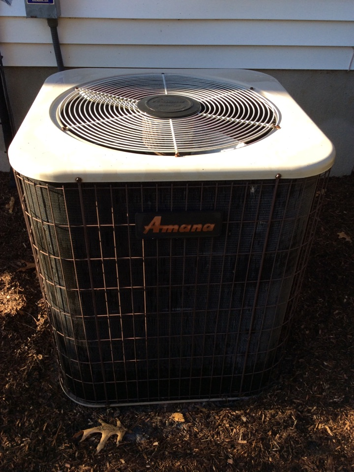 Sparta Township, NJ - PERFORM 20 POINT PERCISION TUNEUP ON A AMANA AIR CONDITIONING SYSTEM