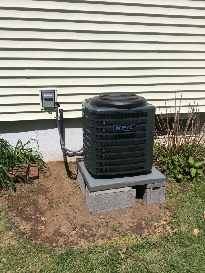 Woodland Park, NJ - Install Goodman coil and condenser