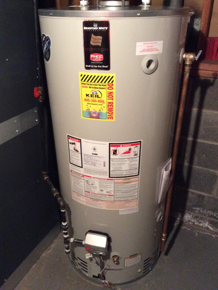 Paramus, NJ - REMOVE OLD 75 GAL AO SMITH HOTWATER HEATER AND INSTALL NEW 75 GAL BRADFORDWHITE HOTWATER HEATER