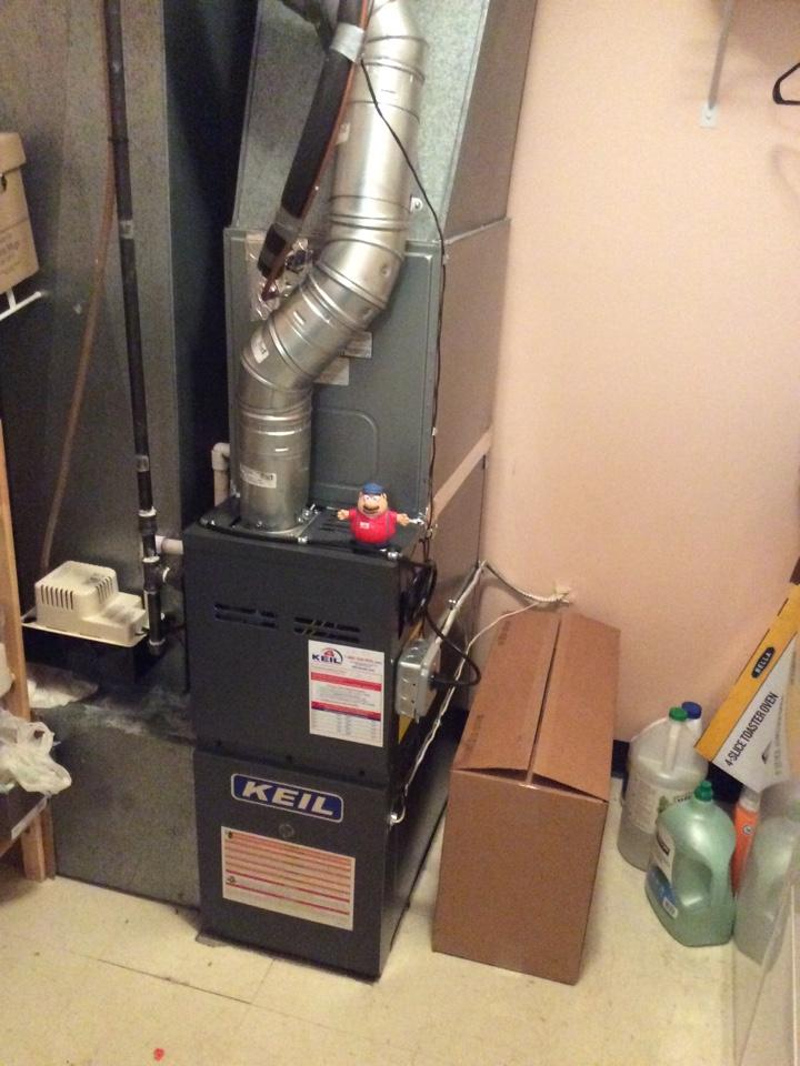 Clifton, NJ - Install Goodman furnace