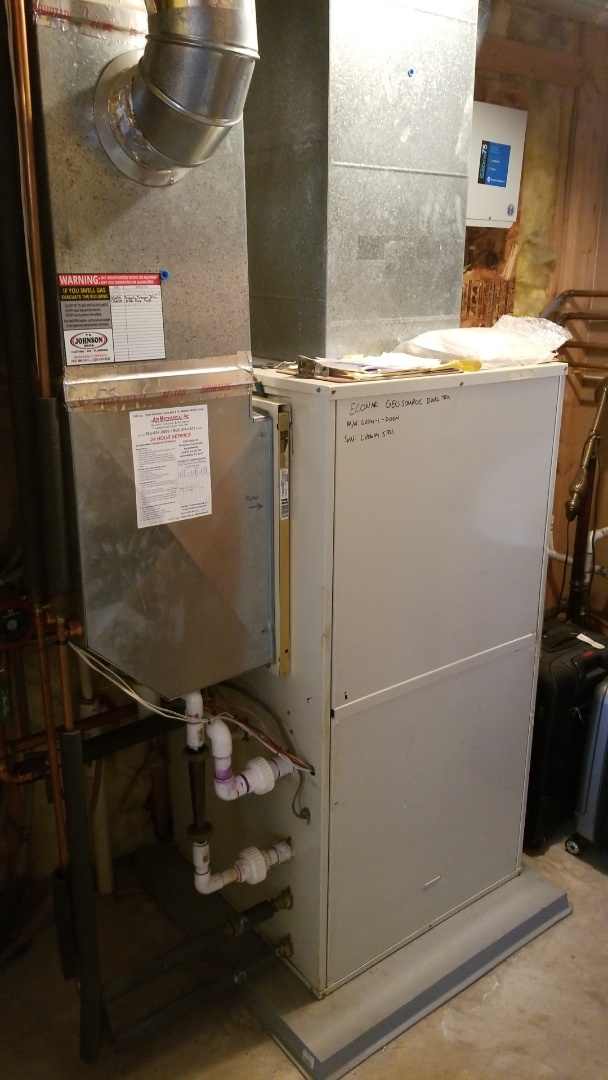 Stacy, MN - Maintenance on Geothermal pump and dump system
