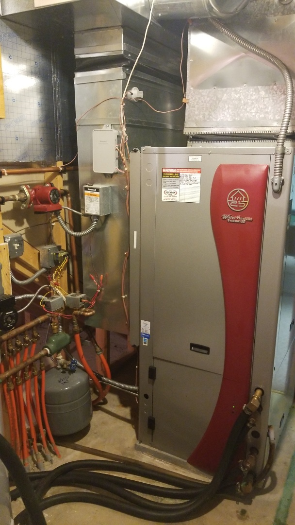 Water Furnace Geothermal maintenance and Service
