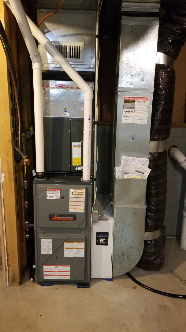 Cambridge, MN - Install new Amana furnace