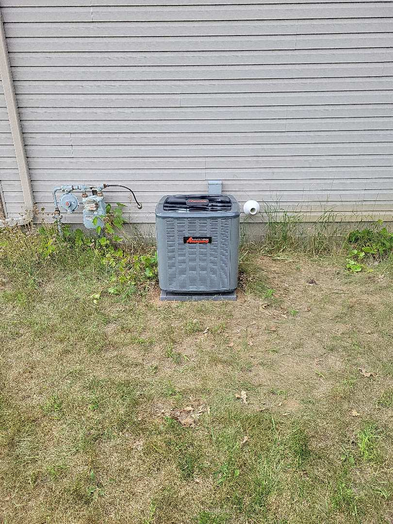 Cambridge, MN - Furnace and AC install