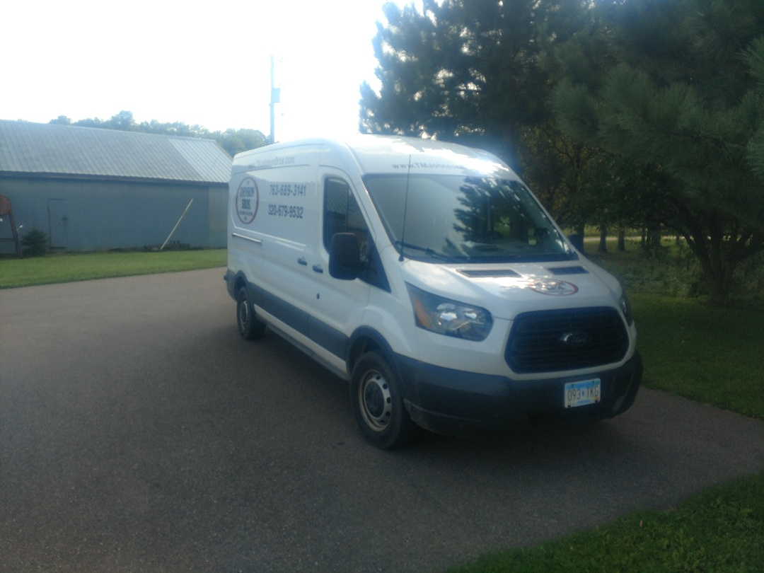 Brook Park, MN - Amana Furnace tune up and toilet repair.