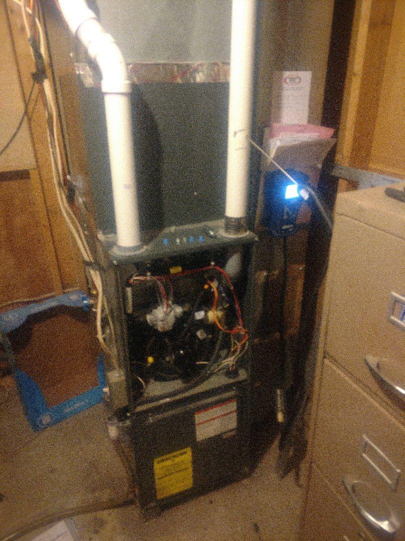 Princeton, MN - Furnace tune up. Annual maintenance on Goodman furnace.
