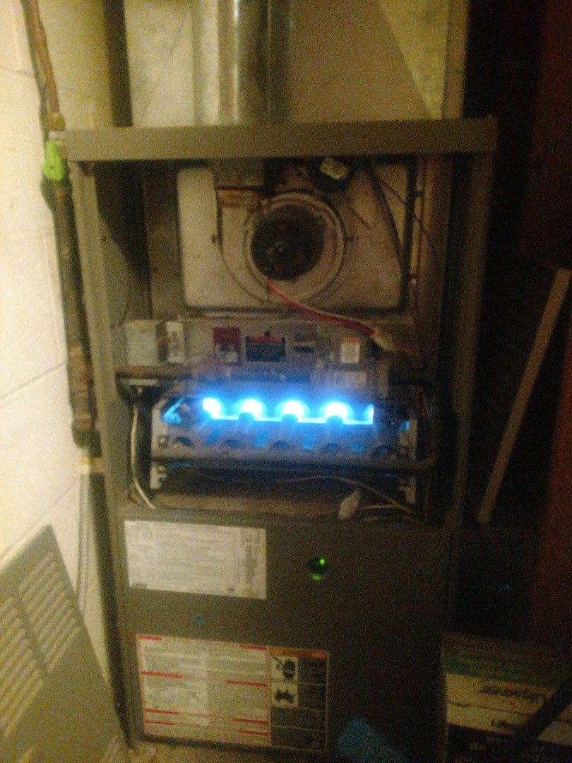 Princeton, MN - Furnace service call. Repair on Lennox furnace.