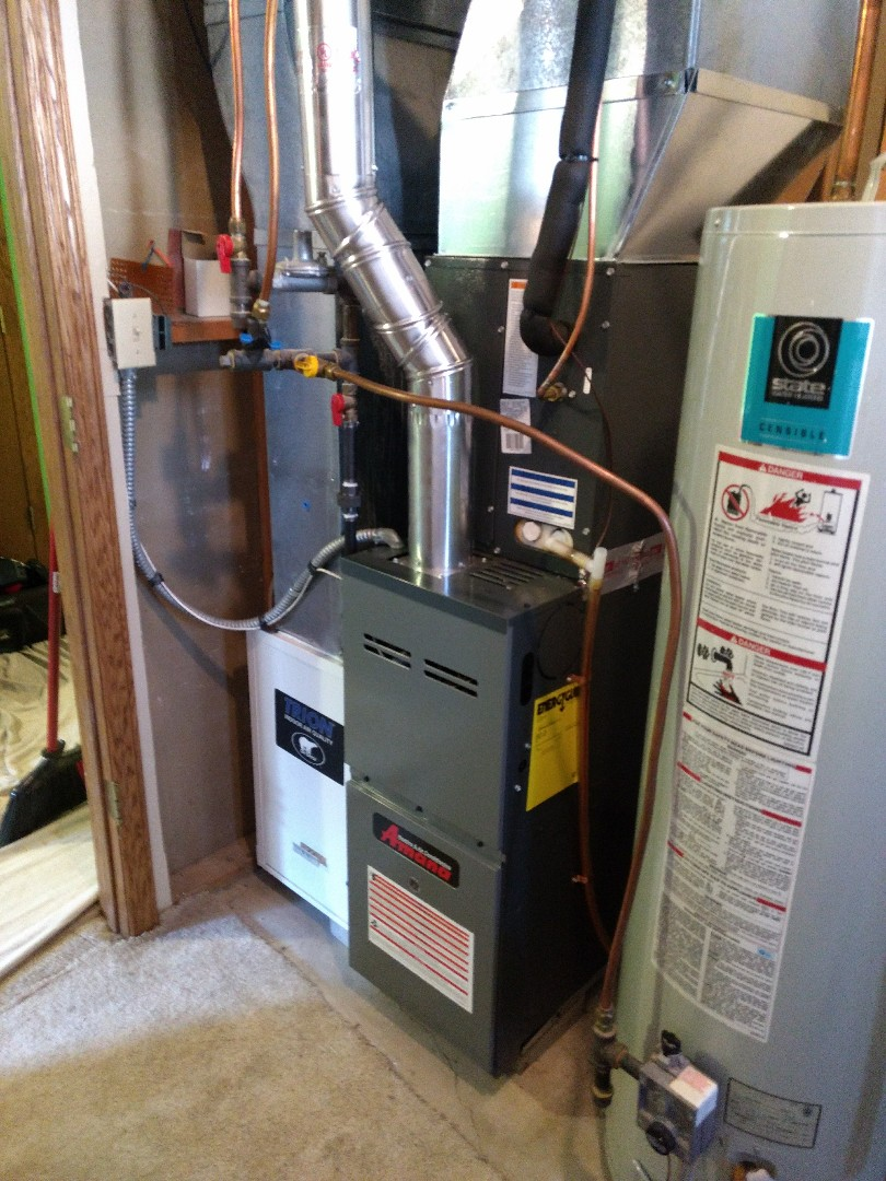 North Branch, MN - Installation of Furnace and A/C system.