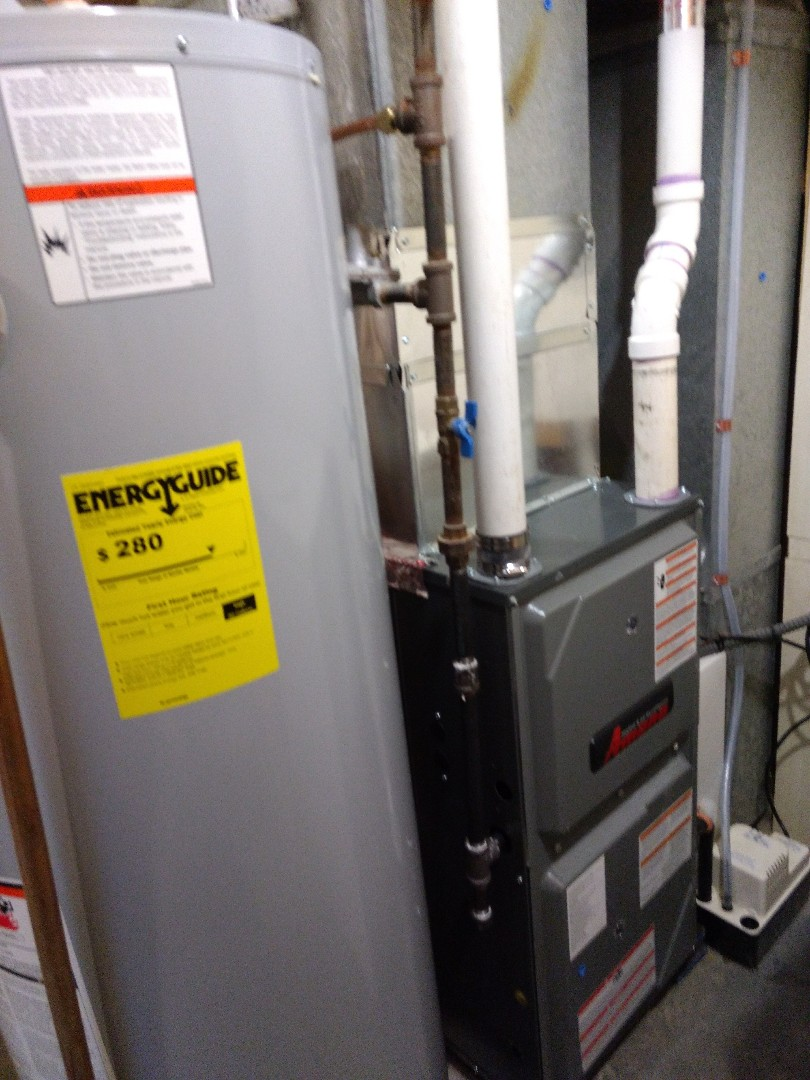 Stacy, MN - Installed high efficient furnace.