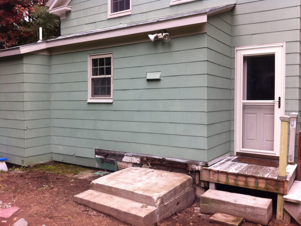 Danvers, MA - Just started carpentry repair for a family in Danvers ma