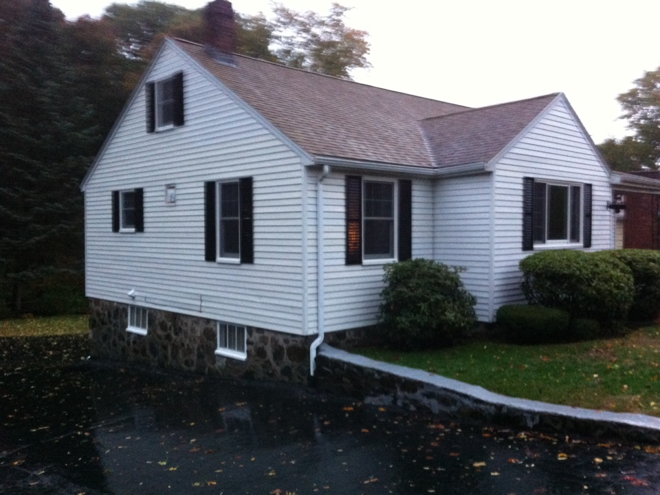Swampscott, MA - Securing a gutter protection project with shutter replacement in Swampscott
