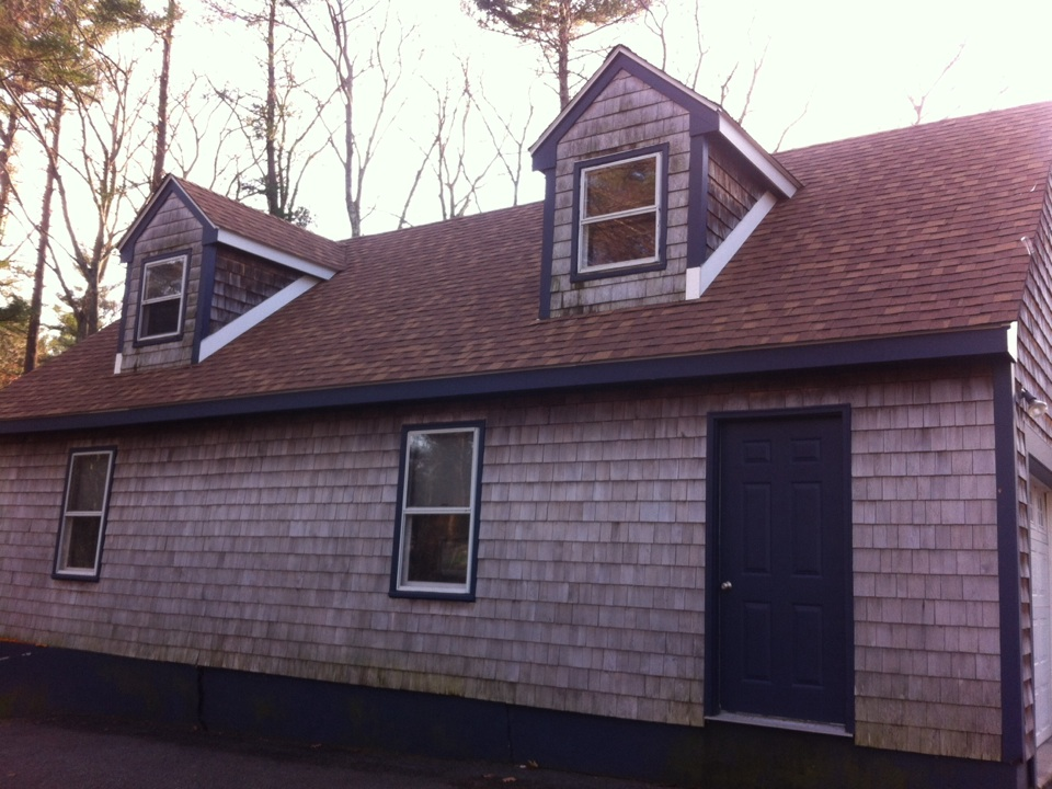 Middleton, MA - Just completed a roof replacement for a family in Middleton ma