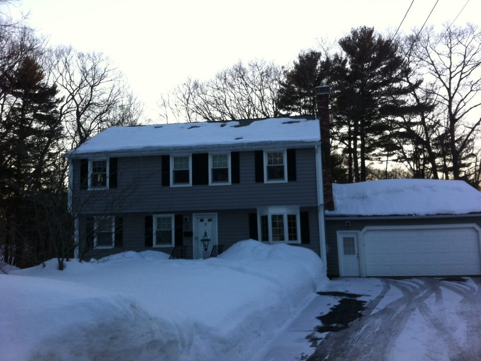 Beverly, MA - Estimating an insulation project for an owner in Beverly who is looking to be more energy efficient and minimize his future ice dam issues