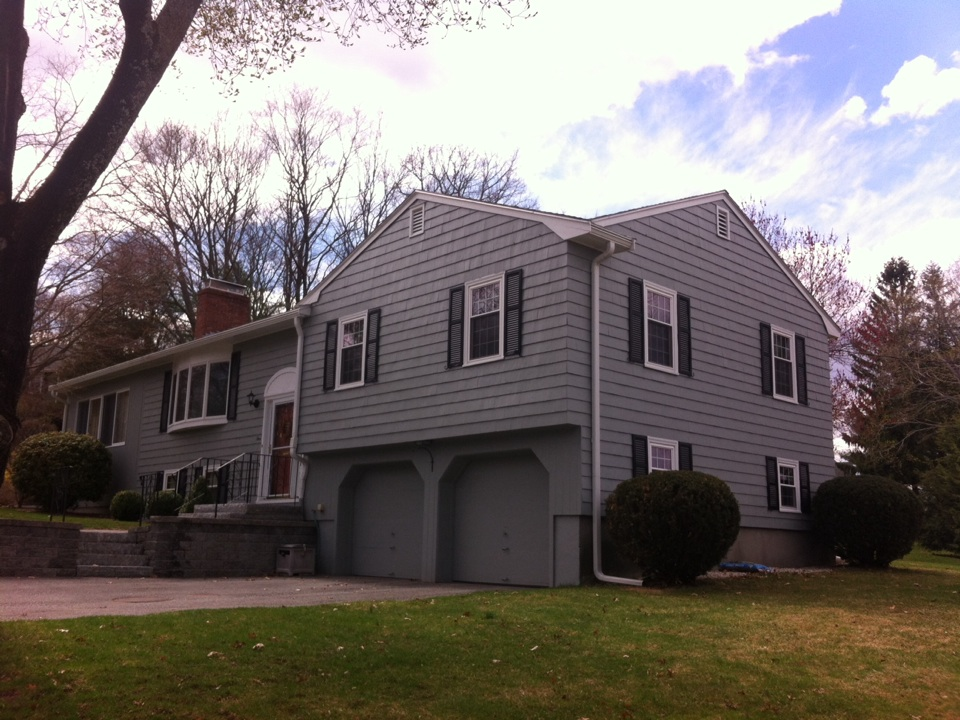 Lynnfield, MA - Just started attic insulation & roofing project for a family in lynnfield MA