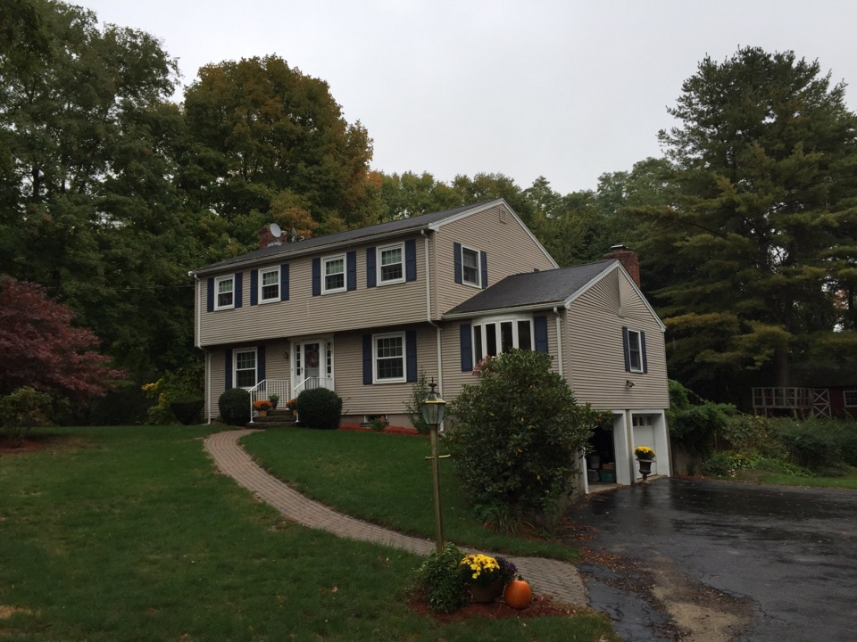 Danvers, MA - Estimating an asphalt roof job and an attic insulation project in Danvers