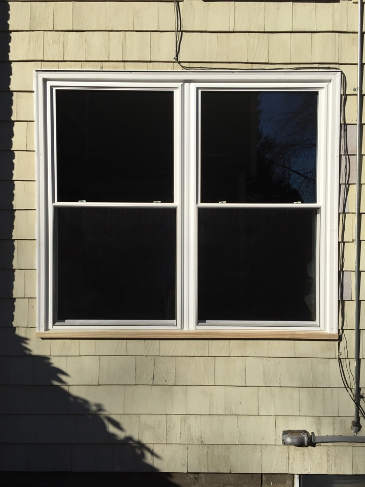 Lynnfield, MA - Just completed a sunrise/vanguard vinyl window job for a family in lynnfield MA