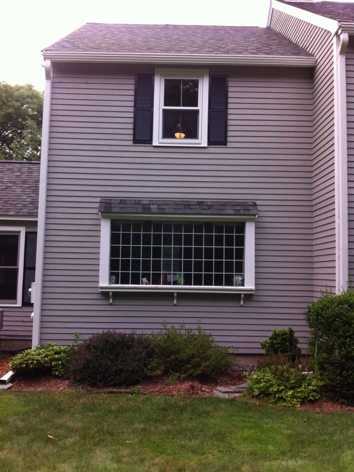 Boxford, MA - Just finished replacement windows installation for a family in boxford
