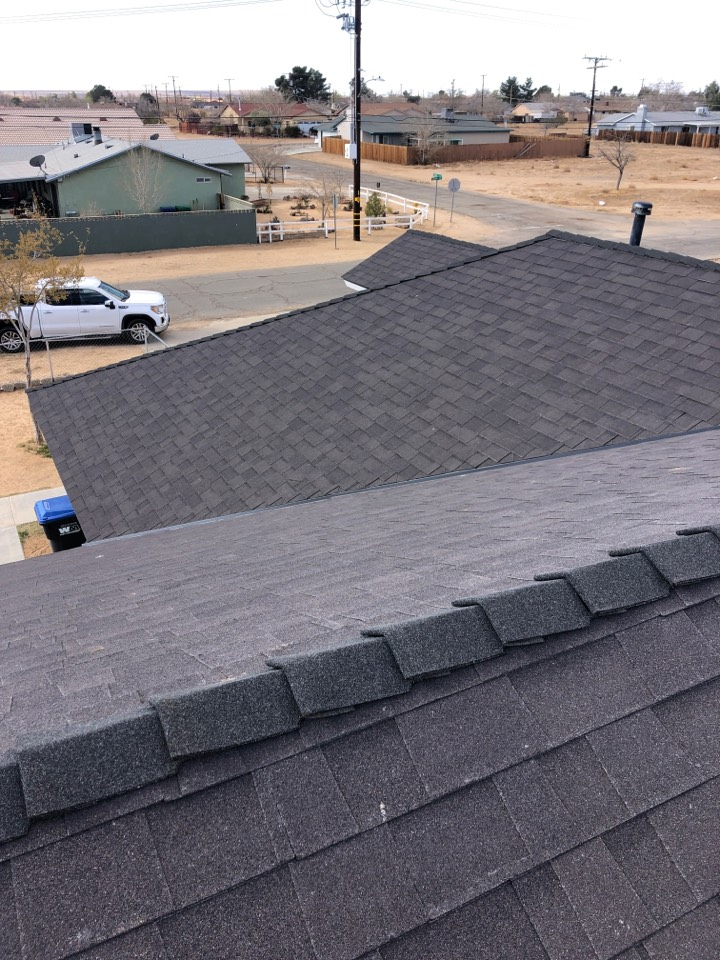 California City, CA - This roof will do 100% good in California City winds.