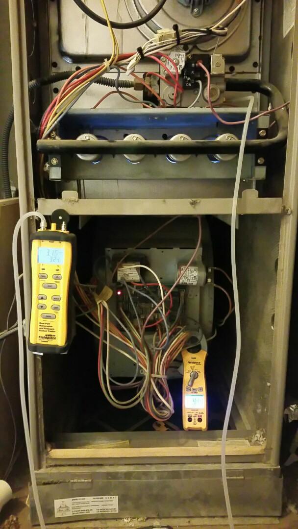 Amarillo, TX - Repairing Goodman heater!