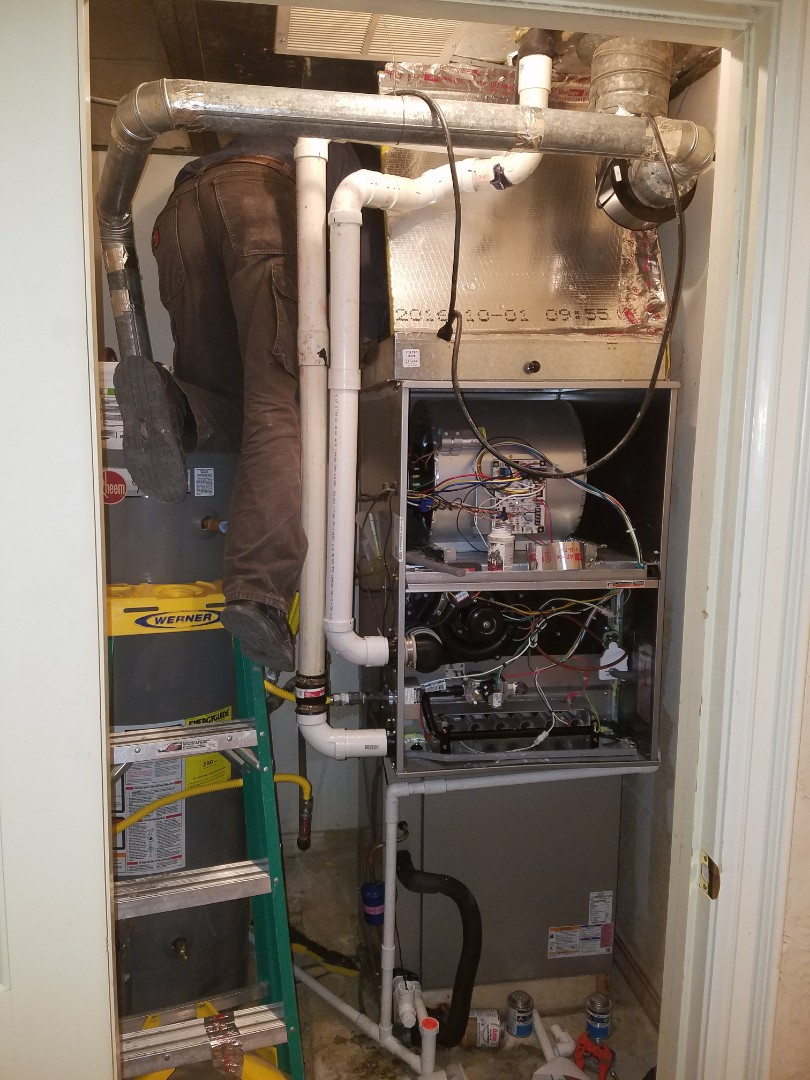 Hereford, TX - Equipment change out. Bryant 90% + furnace and A/C.