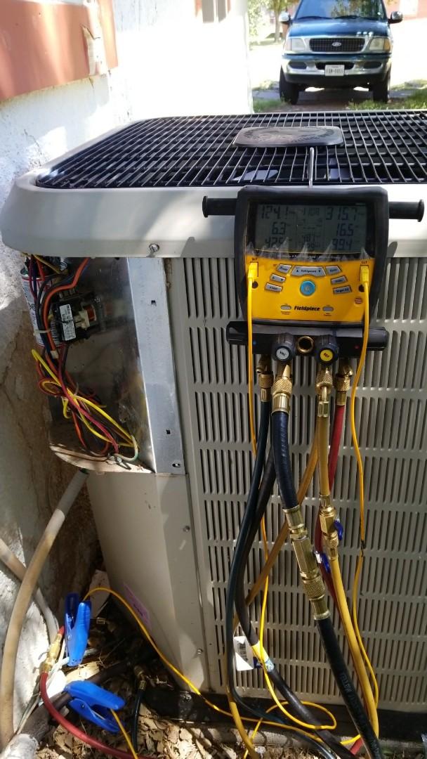 Canyon, TX - Repairing Nordyne system!