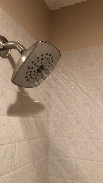 Kansas City, MO - An easy bathroom update is to simply change out the shower head.  Choose from stainless steel, brushed nickel or chrome for a sophisticated look to fit many different styles of homes.