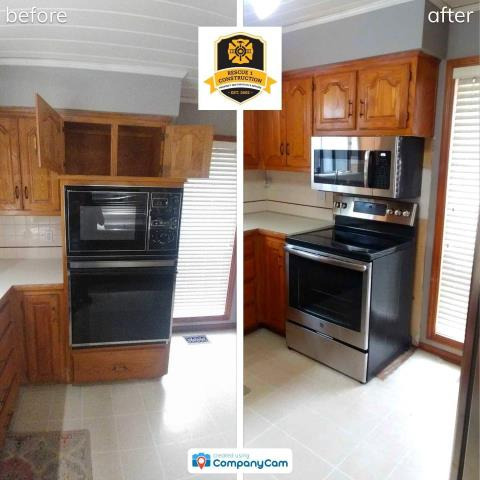 Overland Park, KS - Just updating your appliances can change the look of your kitchen.