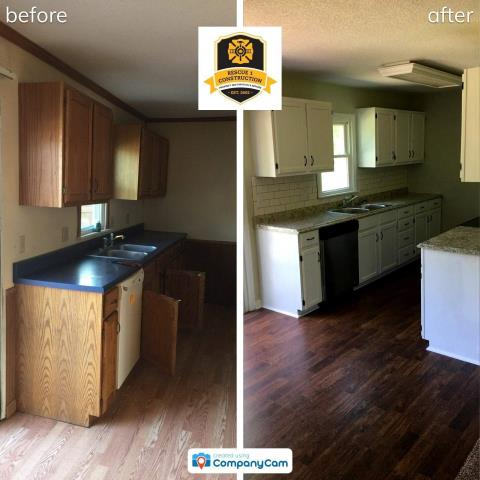 Look at this amazing kitchen transformation!
