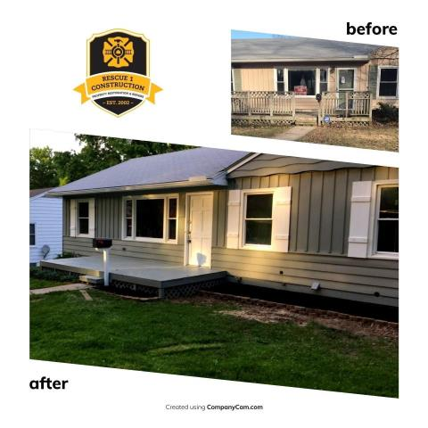 What a transformation on the curb appeal of this home!