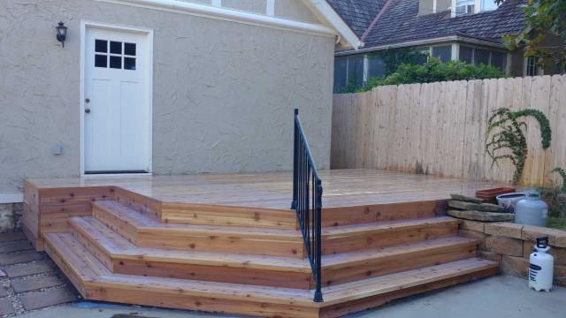 Having a custom deck creates outdoor living space that can give you the feel of extra square footage.