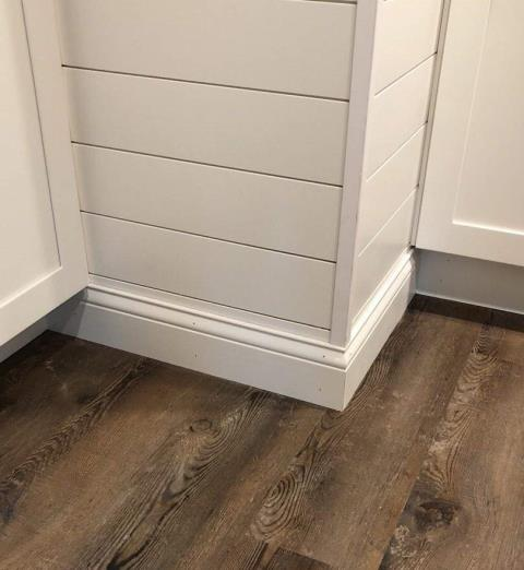 Baseboards add a nice finishing touch to any room.