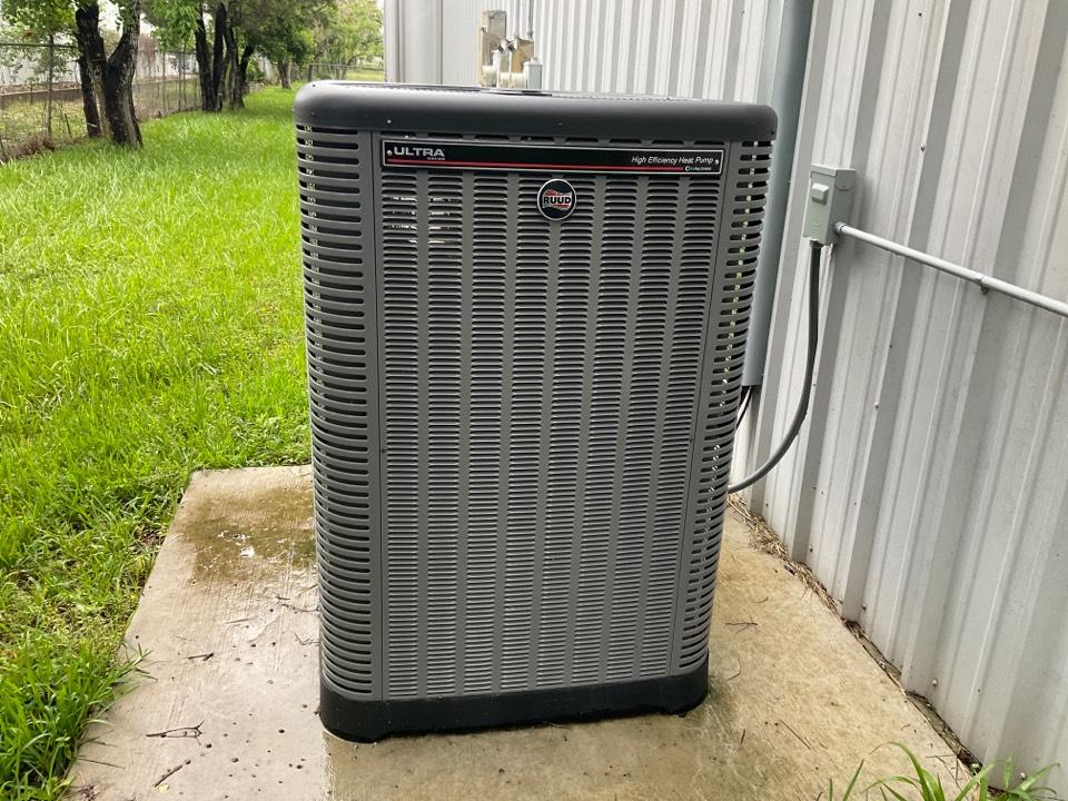Houston, TX - Preventive maintenance on RUUD inverter system.