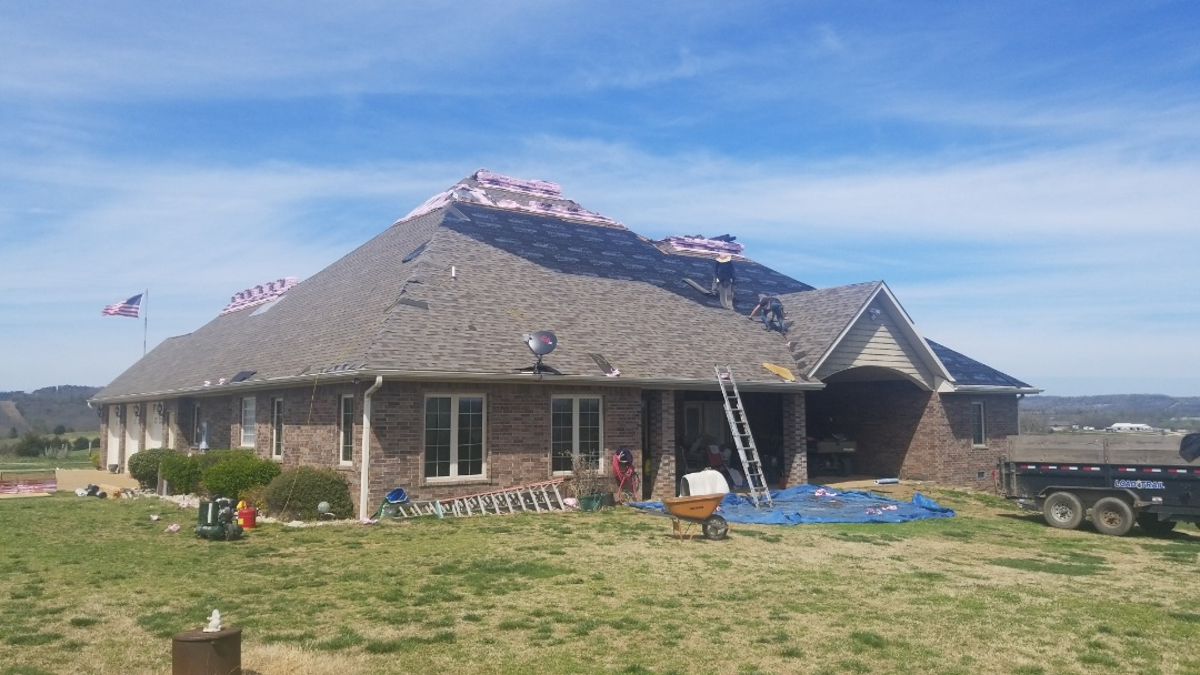 Berryville, AR - Quality Assurance Roofing helped this customer in Berryville Ar get a complete new roof paid for by the Homeowners Insurance Carrier. The roof was paid for due to wind damage from our recent wind storms. Call Quality Assurance Roofing for your Free Wind Inspection to see if you may qualify for a roof replacement. Www.myassuranceroofing.com