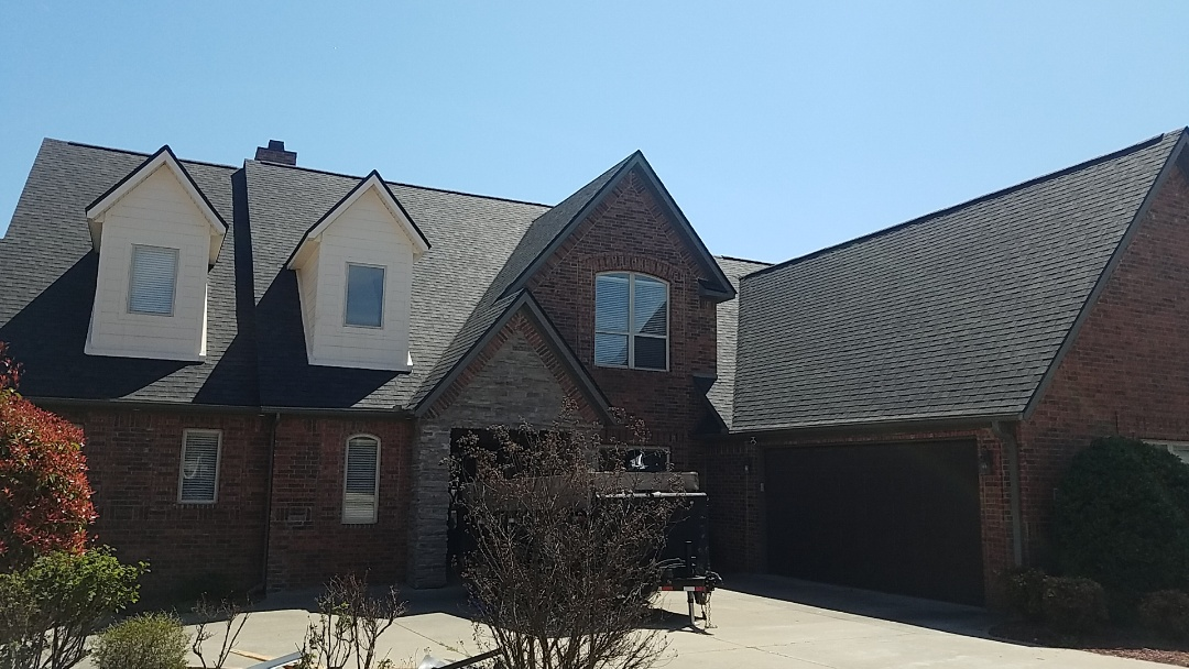 Rogers, AR - Full roof replacement complete.
