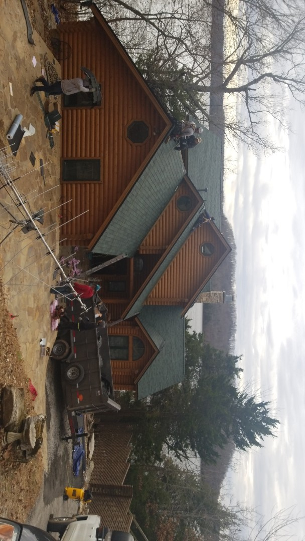 Eureka Springs, AR - Replacing old roof with new Owen's Corning Duration