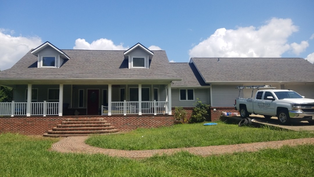 Berryville, AR - New OC Oakridge roof in Berryville,AR