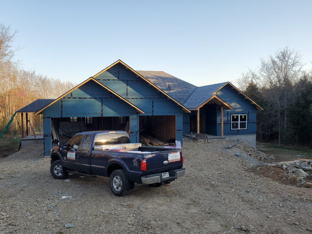 Eureka Springs, AR - New roof completed in Eureka springs. This is an Owens Corning Oakridge shingle (Onyx Black). Call Quality Assurance Roofing today.