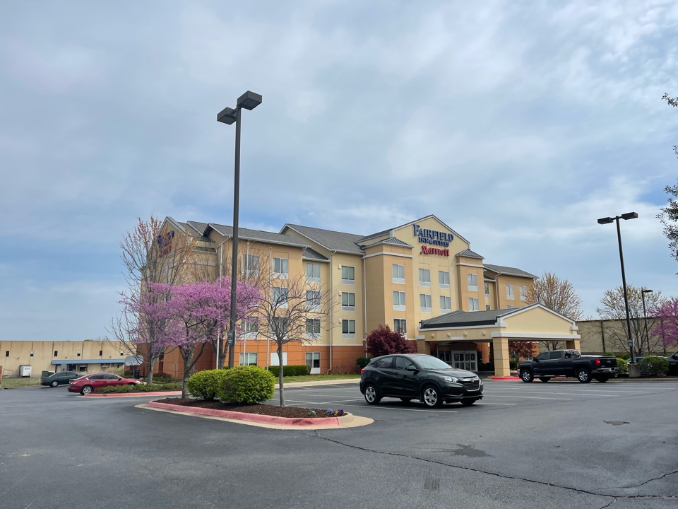 Springdale, AR - Qar Just completed a Certainteed Integrity Roof System on The Fairfield Inn and Marriot's Suites in Springdale, Ar. www.myassuranceroofing.com
