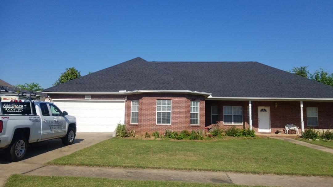 Bentonville, AR - New certainTeed landmark roof
