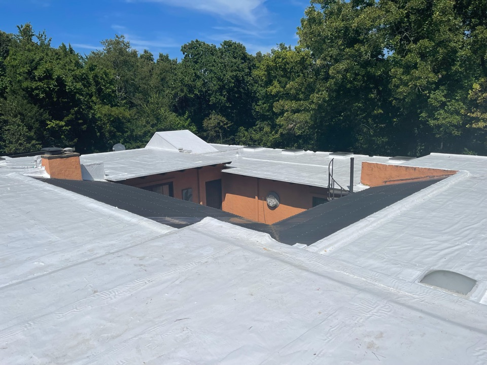 Eureka Springs, AR - Our second coating job of the week, this one is in Berryville Ar.