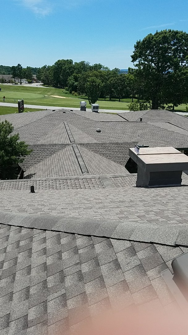 Eureka Springs, AR - Just Finished up the Holiday Island Country Club Roof