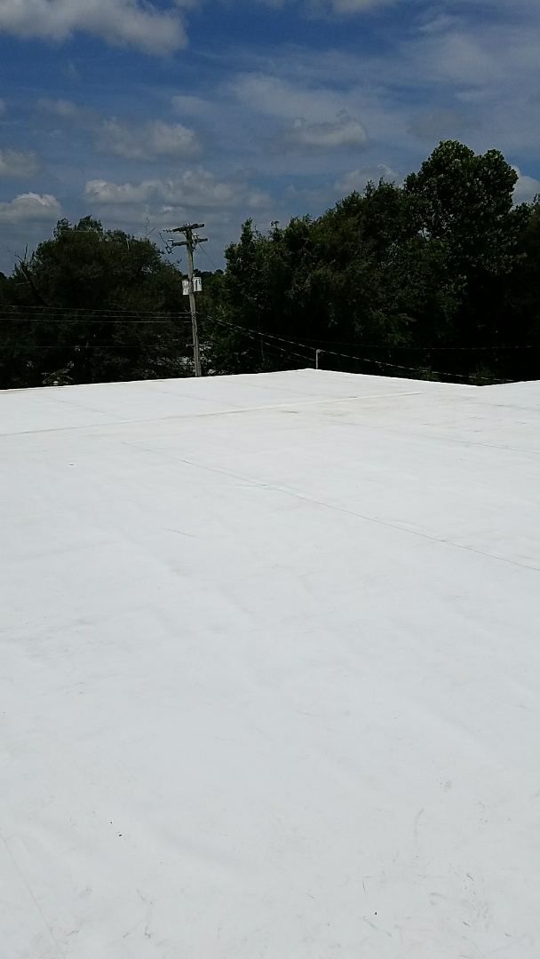 Berryville, AR - Newly installed TPO Roof in Berryville Ar.